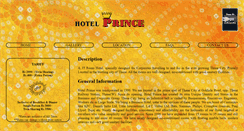 Preview of hotelprince.co.in